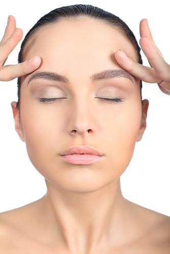 上端瞼板固定法の修正